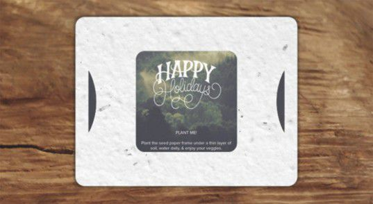 Republic of Change plantable holiday cards