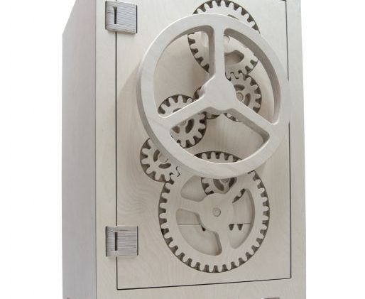 The modern wooden safe box named mr.knox is a funny interpretation of a typical steel safe box. This new wooden ...