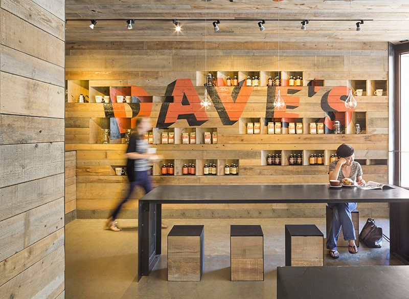 Dave's coffee shop by 3six0 Architecture | Photo © John Horner Photography