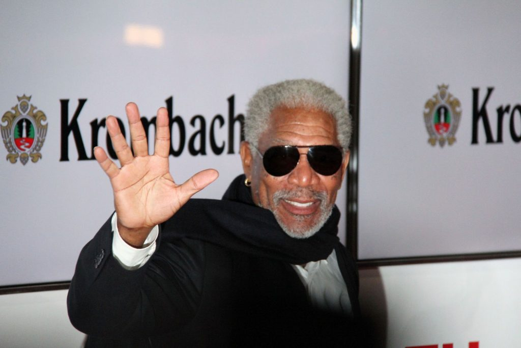 Morgan Freeman by JCS is licensed under CC BY 3.0