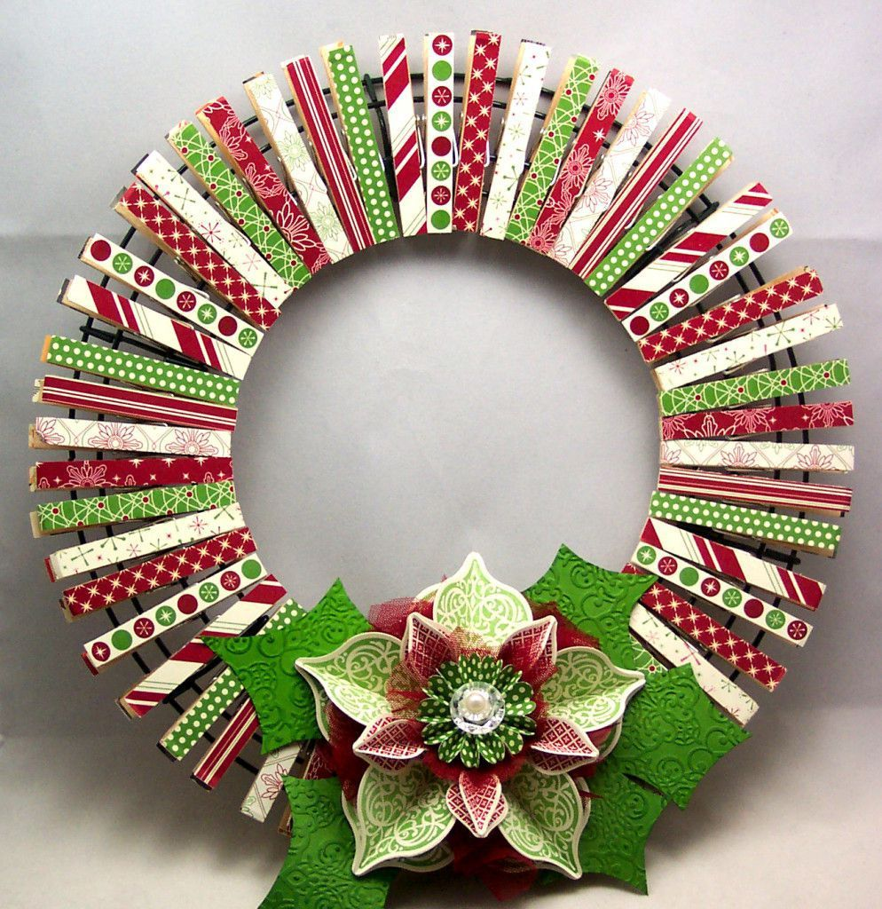5 great ideas for making your own wooden Christmas wreath ...