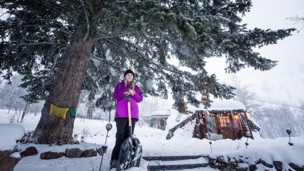 Tiny House Skier Lexi DuPont