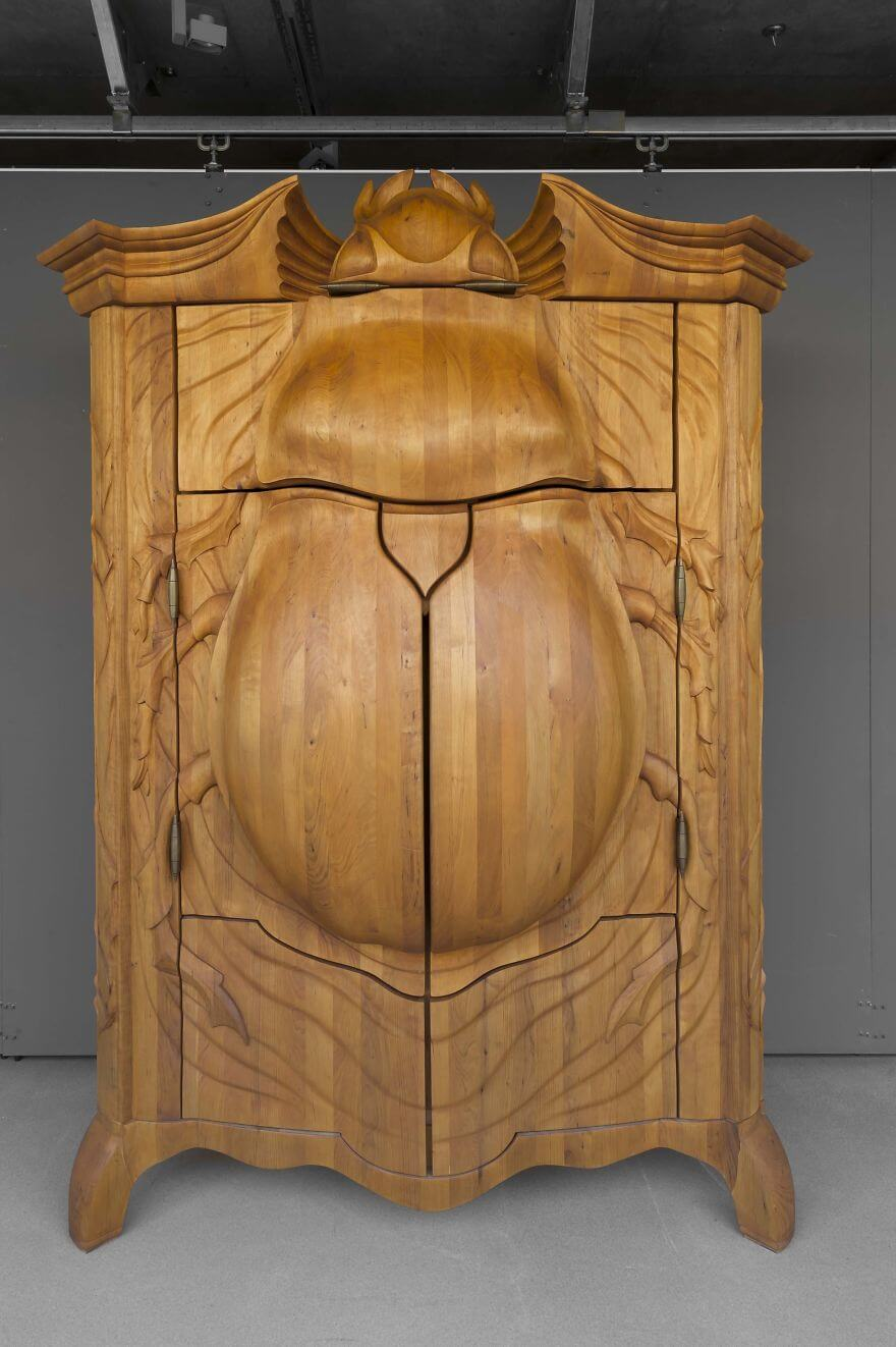 'The Beetle' cabinet by Janis Straupe