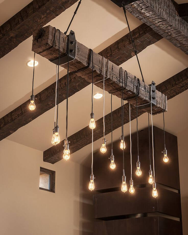 7 Wooden Ceiling Lamp Ideas Woodz