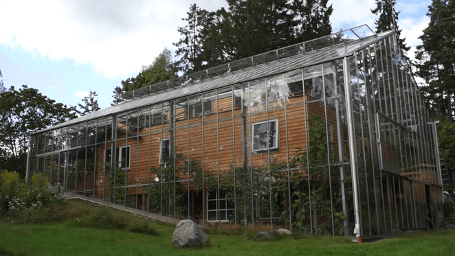 Naturhus eco home greenhouse
