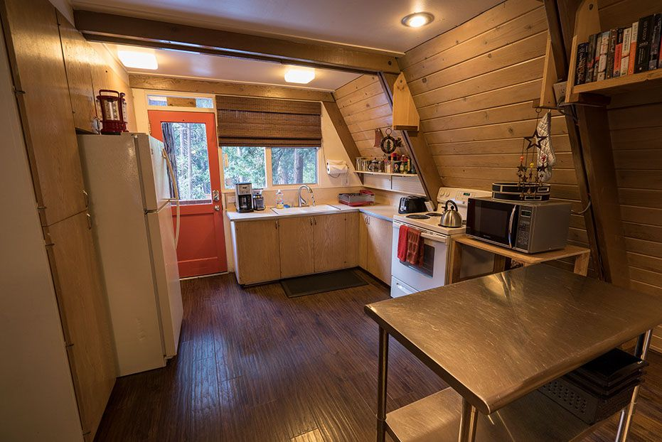 Unique A Frame Cabin In The Mountains Woodz