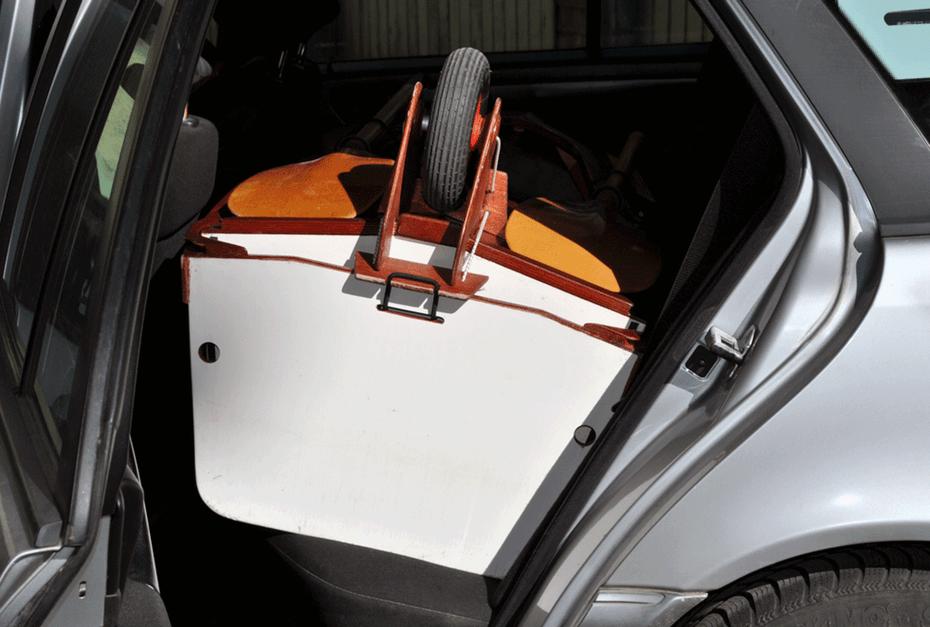 Modular Boner Kayak Break Down Transport