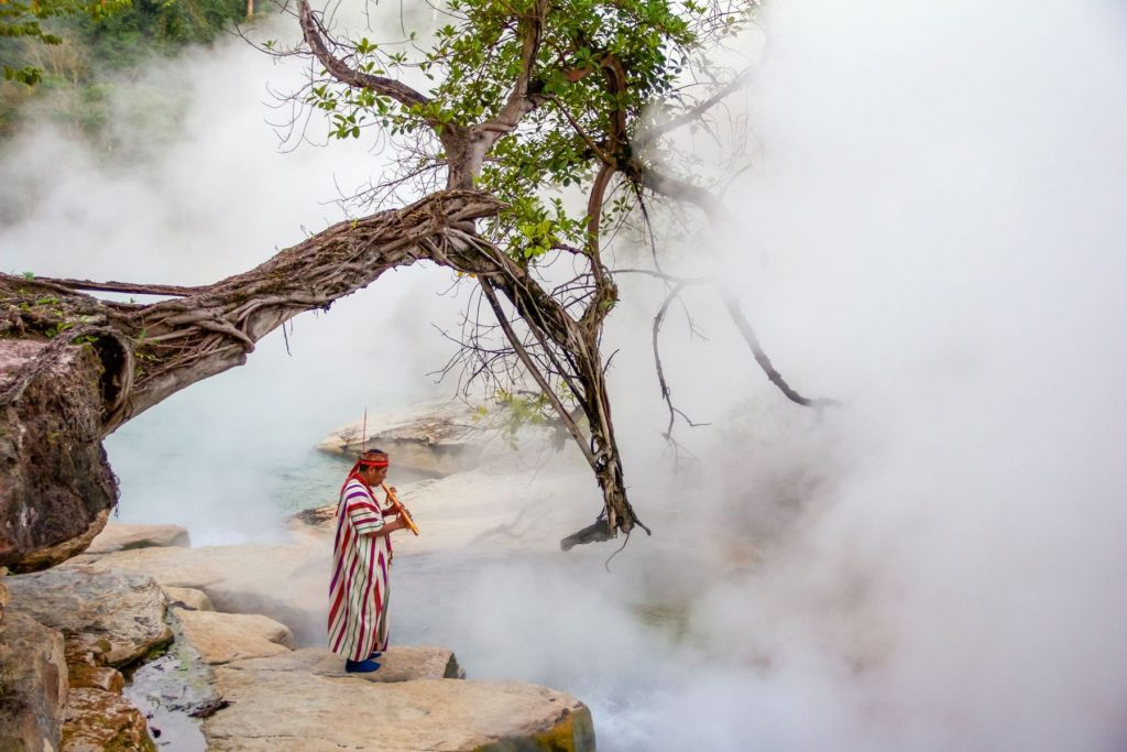 Mythical Boiling River Amazon