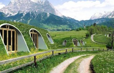 Tiny houses are really popular these days and Magic Green Homes are the makers of a hobbit-like tiny house, boasting ...