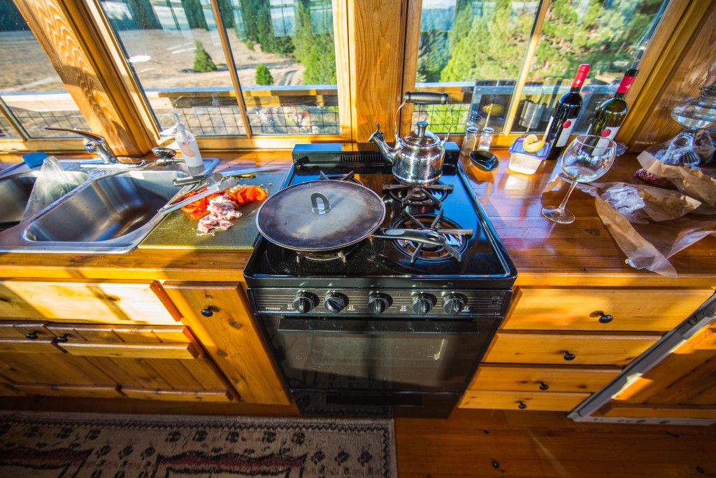 Life in a tiny wooden fire lookout