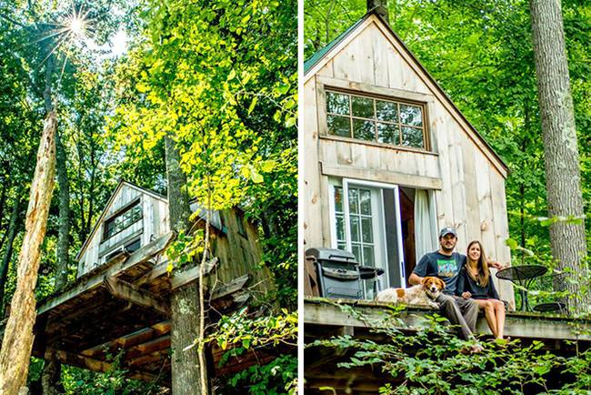 Romantic Tiny Home Build In Only 6 Weeks