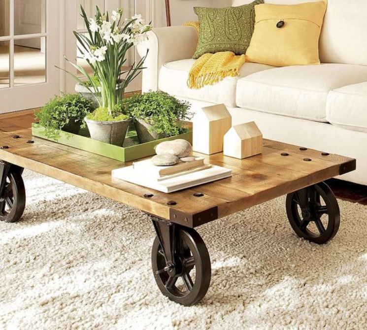 Wooden coffee table ideas Woodz