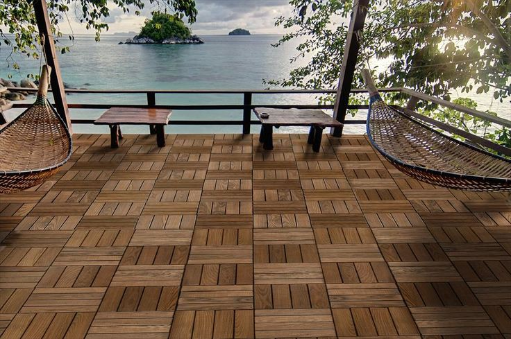 Interlocking Deck Tiles