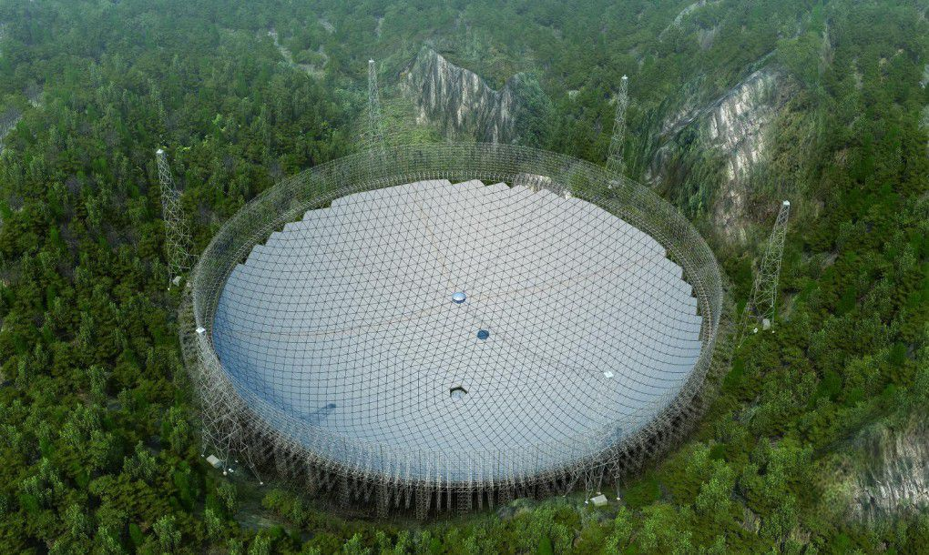 FAST telescope in china will look for aliens