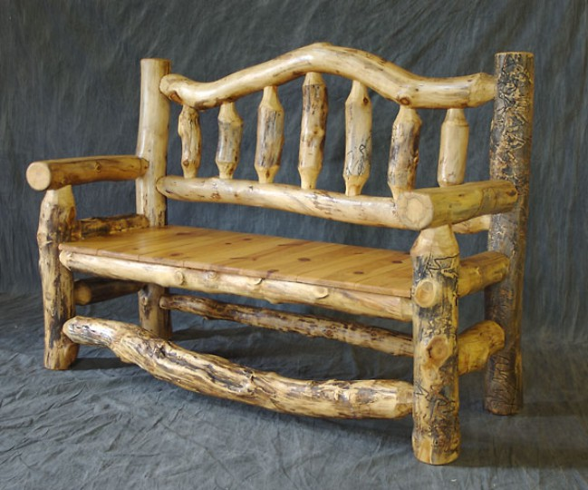 Superior Log Furniture Ideas