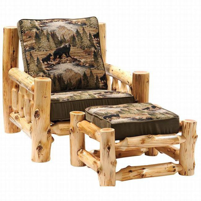 10 Log Furniture Ideas