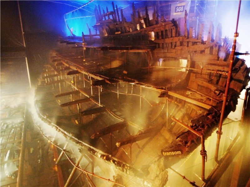 New Method Of Conserving Wood Gets Tested On Historic Ship Artifacts
