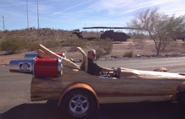 Are you aware that the Guinness Book of World Records has a category for 'fastest motorized log'? Sounds pretty funny ...