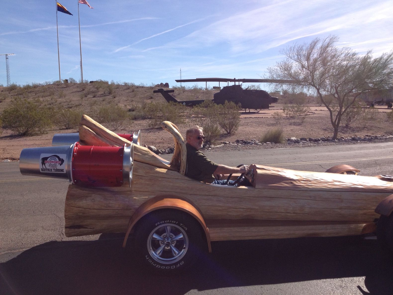 The Cedar Rocket Is The Fastest All-Electric Log Car In The World (1)