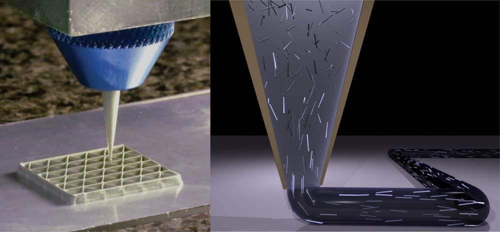 3D printed cellular composite using epoxy resin strongest and lightweight