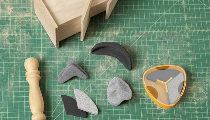 Sandables - Reshapable Sanding Tools For Precise Woodworking