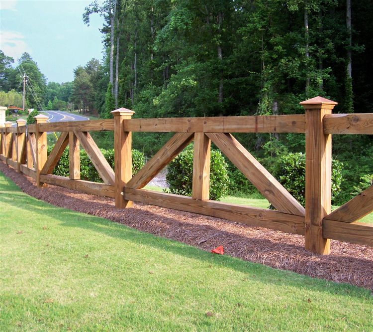 Wooden Fence Part - 40: Wooden Fence Ideas