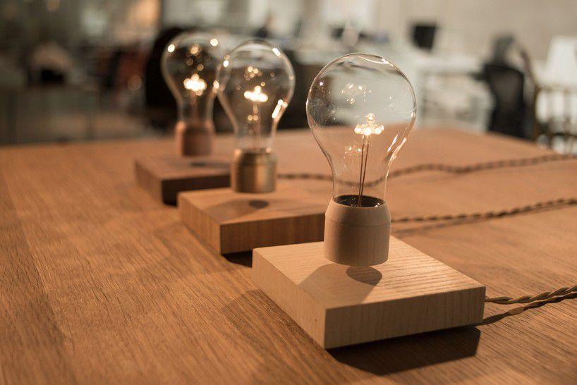 Flyte levitating wireless lightbulb can last for 22 years