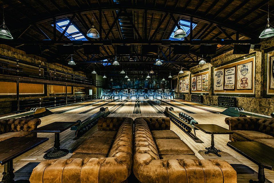 Highland Park Bowl - LA's oldest bowling alley restored