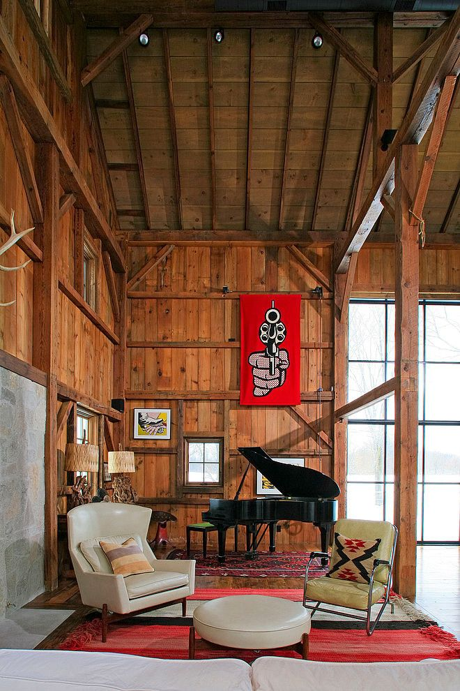 Converted 19th century barn
