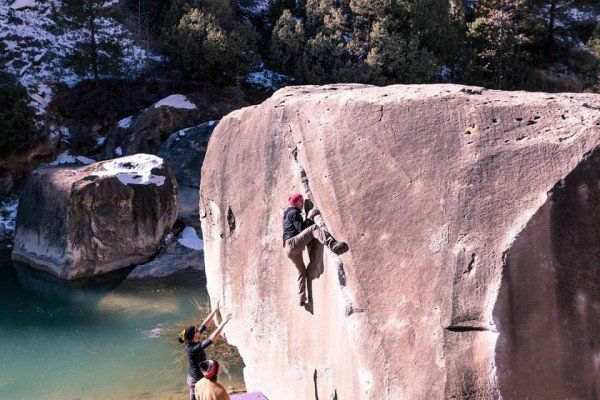 The Story Of A Blind Professional Photographer And Rock Climber