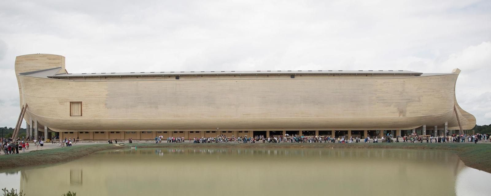 Giant Noah's Ark Built By Kentucky Creationists For $100 Million