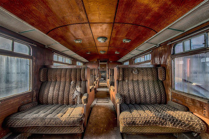 Abandoned Orient Express Train Shows Us What Luxury Travel Looked Like In The Past