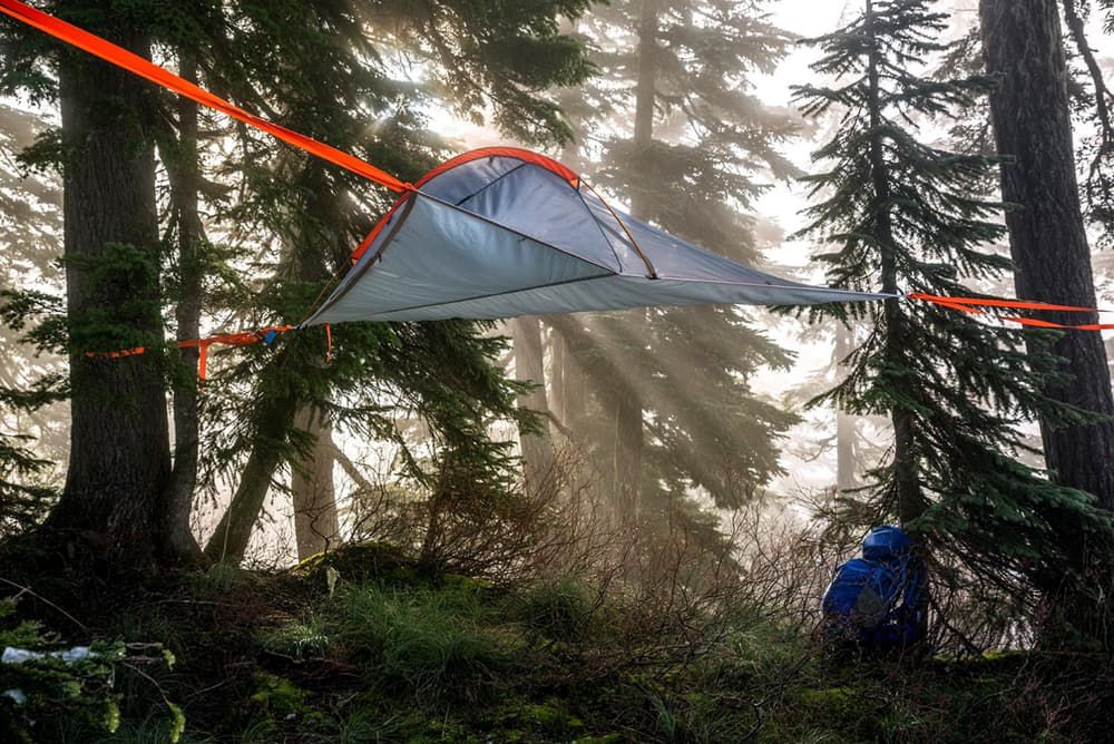 Lightweight hanging Tree Tent tentsile Flite