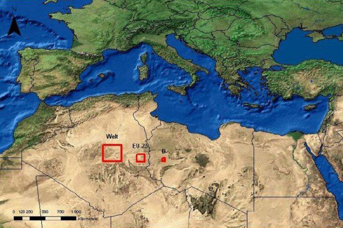 This Area Would Be Enough to Power the Whole World with Solar Energy