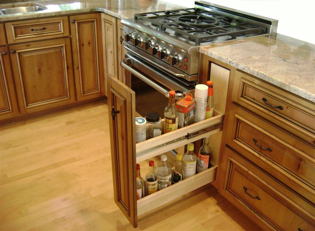 Saving Space Kitchen Ideas 1 Woodz