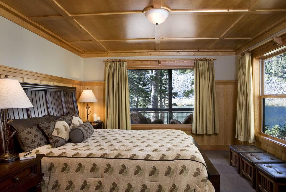wood ceiling, bedroom design ideas