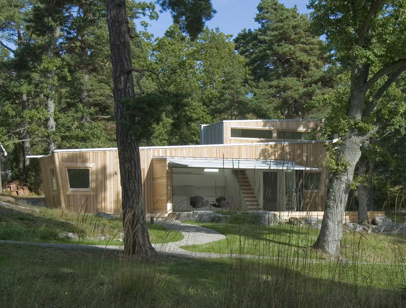 Wood House by Schlyter / Gezelius Arkitektkontor | Photo © Luc Pages