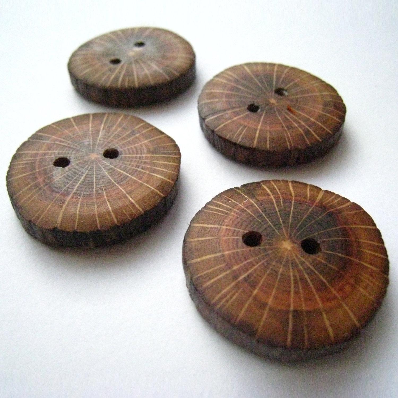 Oak wood button design ideas