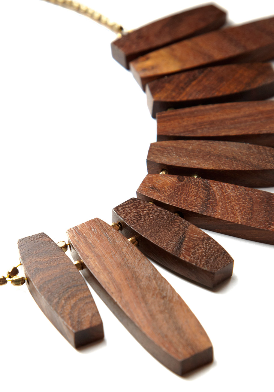 wood necklace design ideas, jewelry