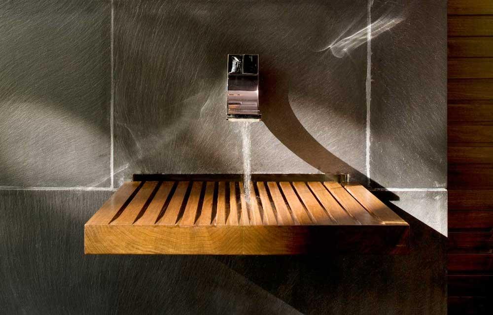 modern wood sink design ideas