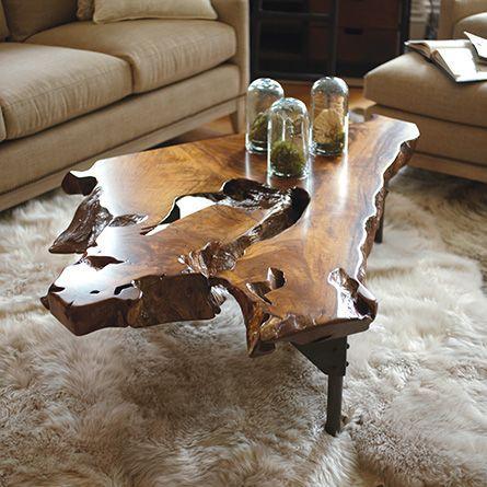 wood coffee table design ideas