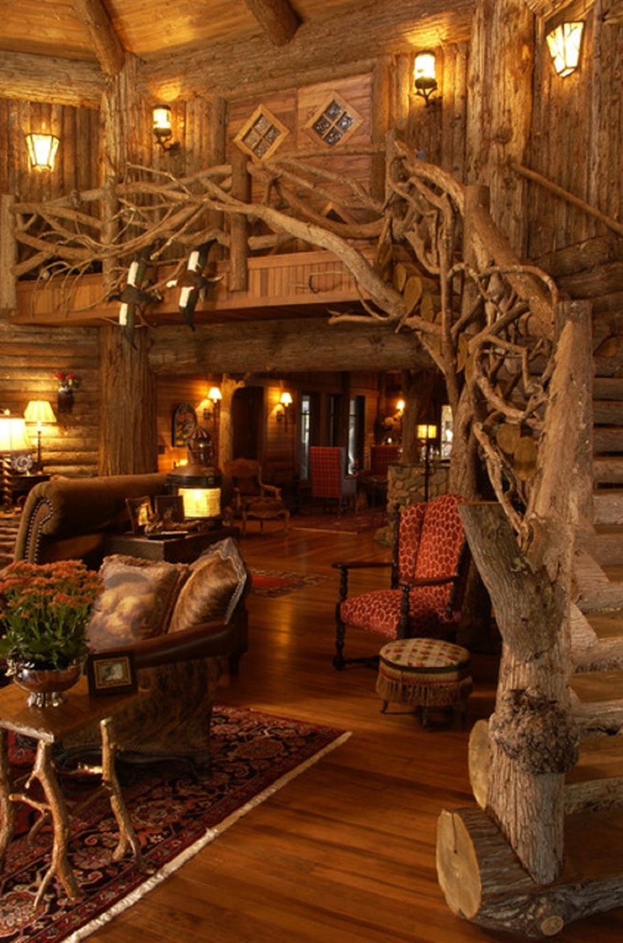 log house interiors 2 woodz