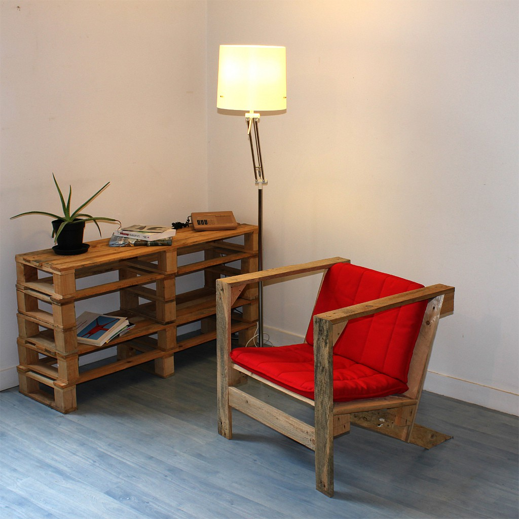 wood pallet design ideas, chair
