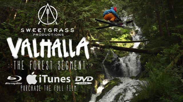 Take a look at this unbelievable forest ski segment from the movie Valhalla.