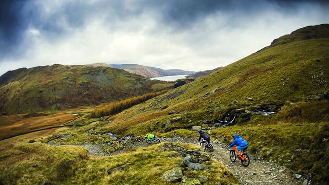 Set amidst the dramatic hills and calm waters of the UK's Lake District.