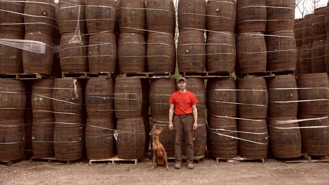 He saves lives, recycles whiskey barrels, and also turns those barrels into beautiful things ...