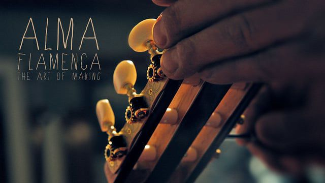 Pieces of wood, love, knowledge and 299 hours of work, condensed in a 3-minute film. Guitar maker - Vassilis Lazarides