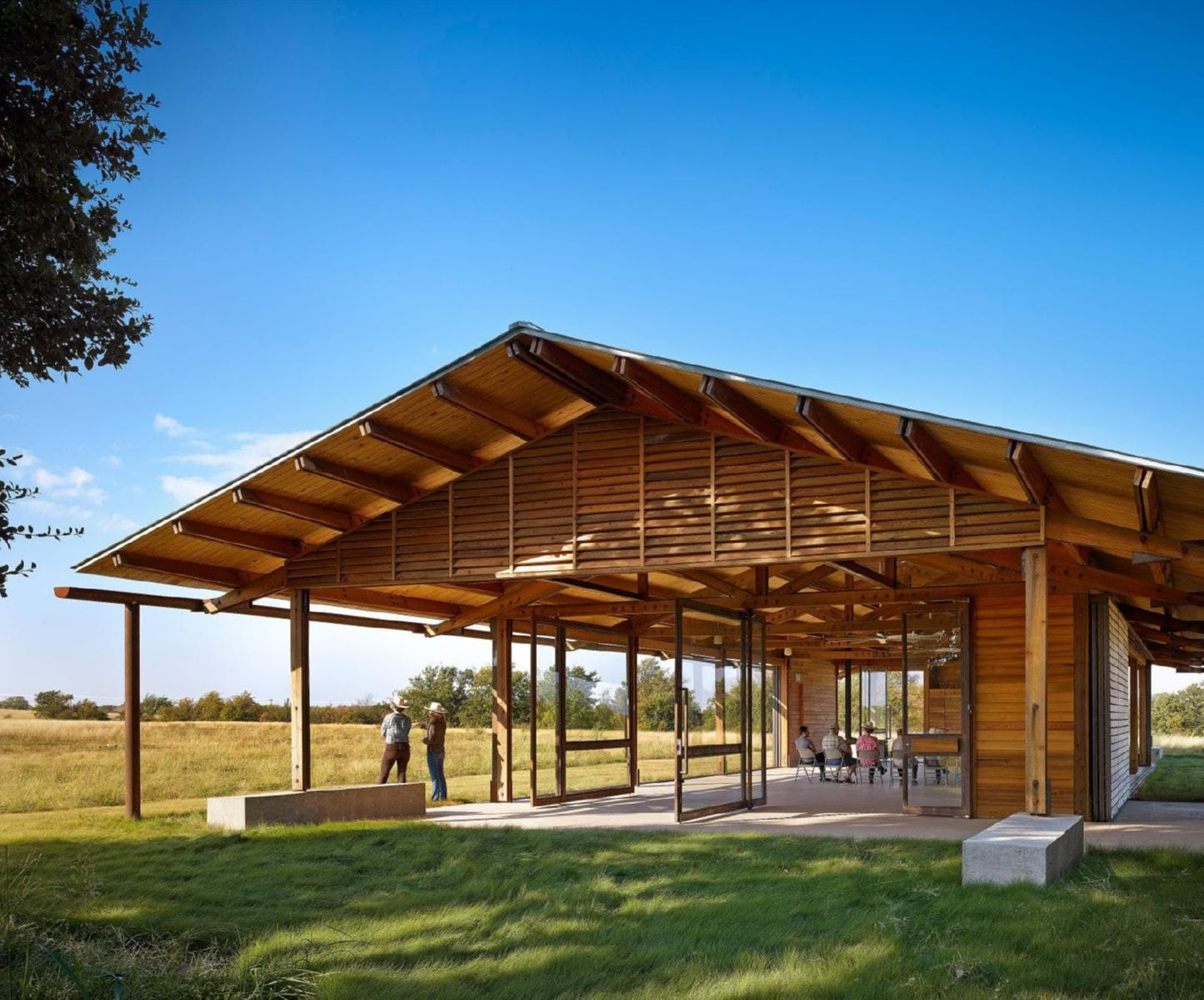 With aspirations to be the first Living Building project in Texas, this 5,400-square-foot open-air pavilion is an education and meeting ...