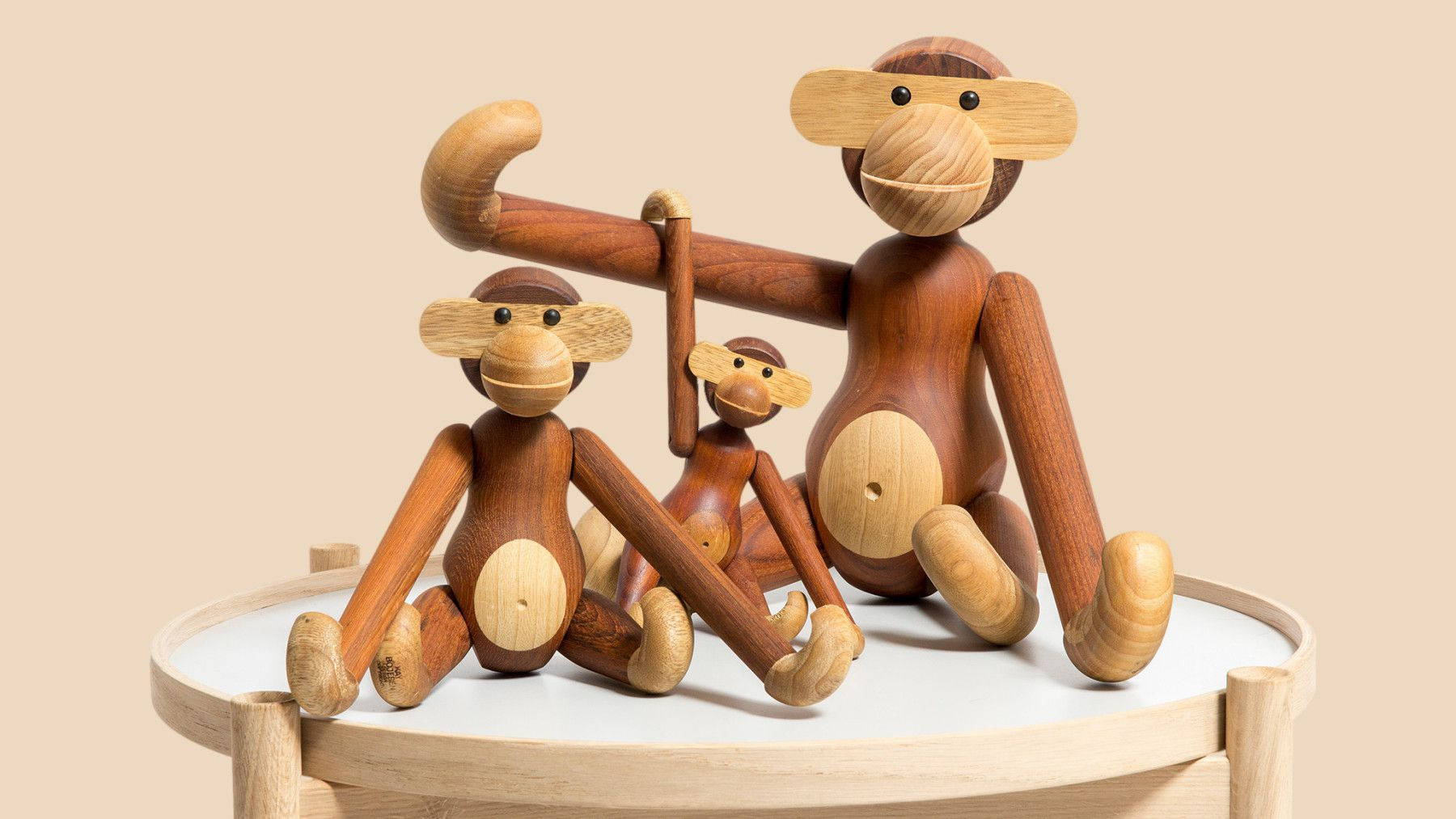 These wooden toys were designed by Kay Bojesen who was one of Denmark's most prolific artisans in the 20th century. ...