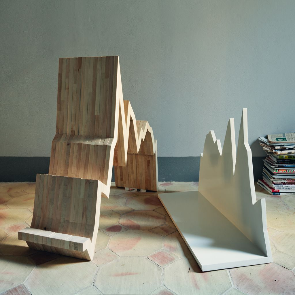 Spread 10Y Wooden Magazine Rack was designed by Antonio Maria Privitera, the founder of Studio Inesistente. The wooden rack is ...